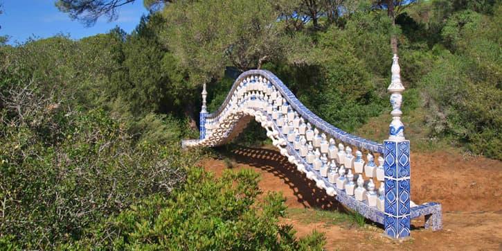 Outdoors contemporary art installation in Cadiz, Spain
