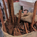 Cinnamon sticks in Estepa