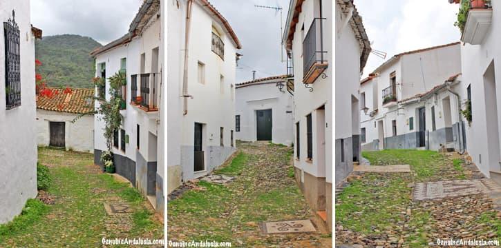 Linares de la Sierra. Village in the Sierra de Aracena. Southern Spain