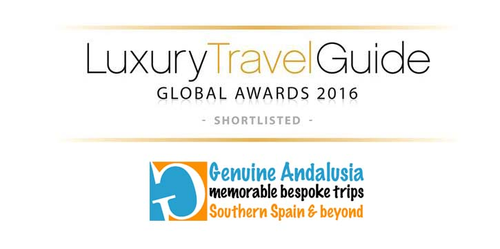 Genuine Andalusia Shortlisted for the Luxury Travel Guide Awards 2016