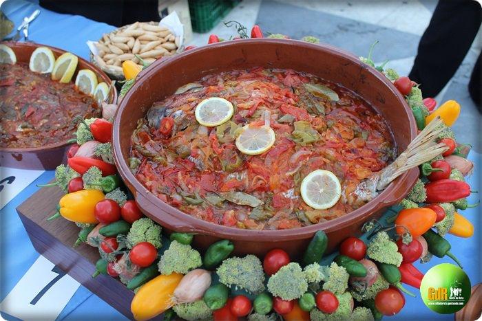 Seam Bream cooked Rota Style