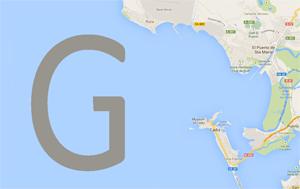 G facing the bay of Cadiz