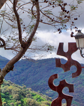 contemporary art in the genal valley