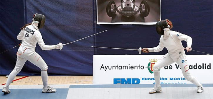 Spanish fencing competition