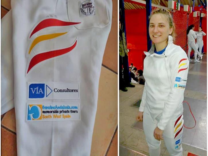 Sara Fernandez Calleja sponsored by Genuine Andalusia