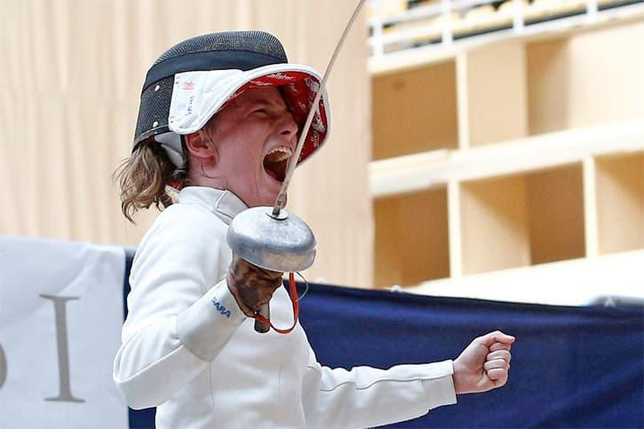 Sara Fernandez Calleja Spanish fencing