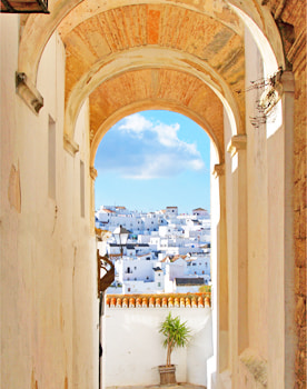 Vejer de la Frontera. Whitewashed villages of Andalusia
