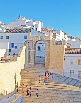 White Villages of Andalusia tour. Medina Sidonia