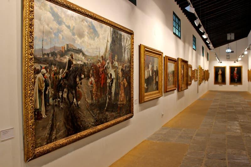 Private art collection at Bodegas Tradicion. Jerez, Spain