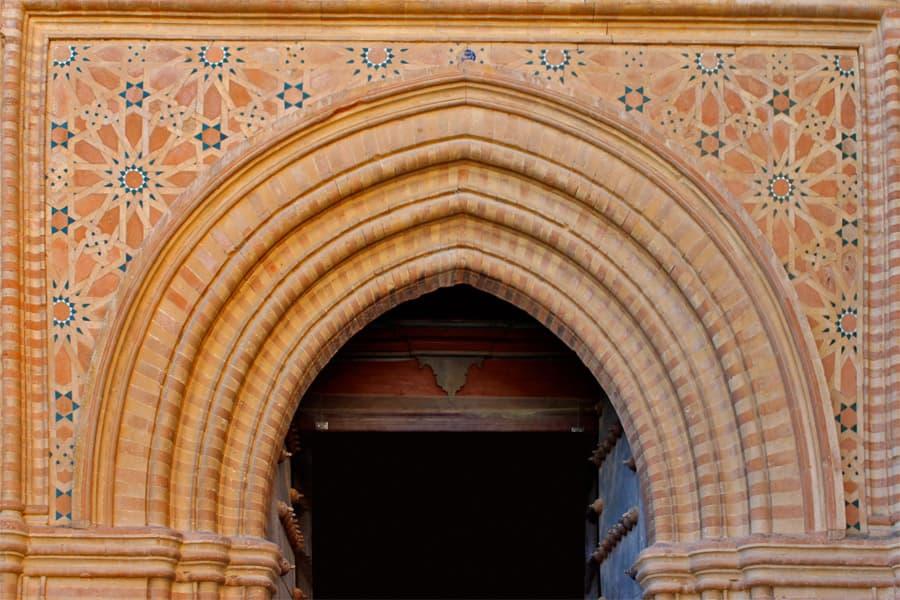 Façade of the Monastery of San Isidoro del Campo