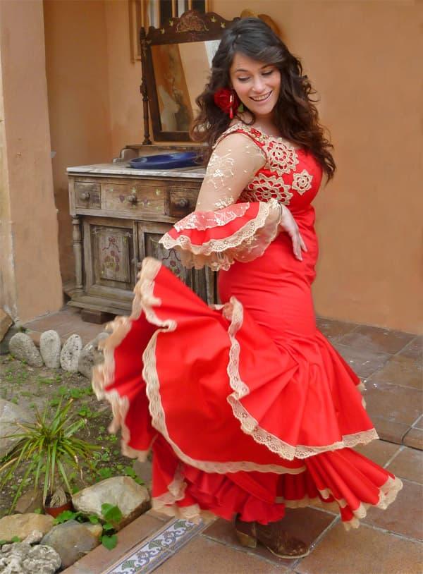 Flamenco dress made via skype