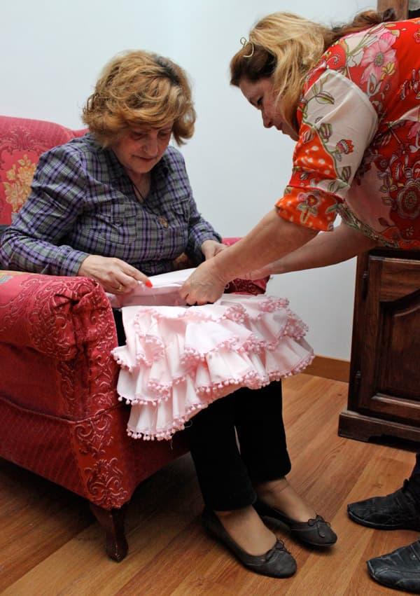 baby flamenco dress