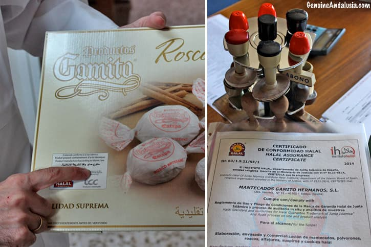 Halal certification for Spanish Christmas Sweets