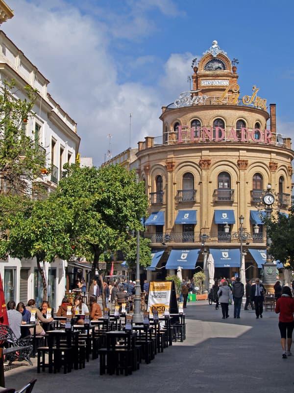 El Gallo Azul building. Jerez, Spain