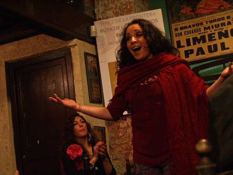 Flamenco Taverns in Jerez, Spain