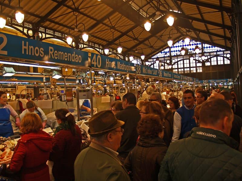 Jerez food market. Southern Spain