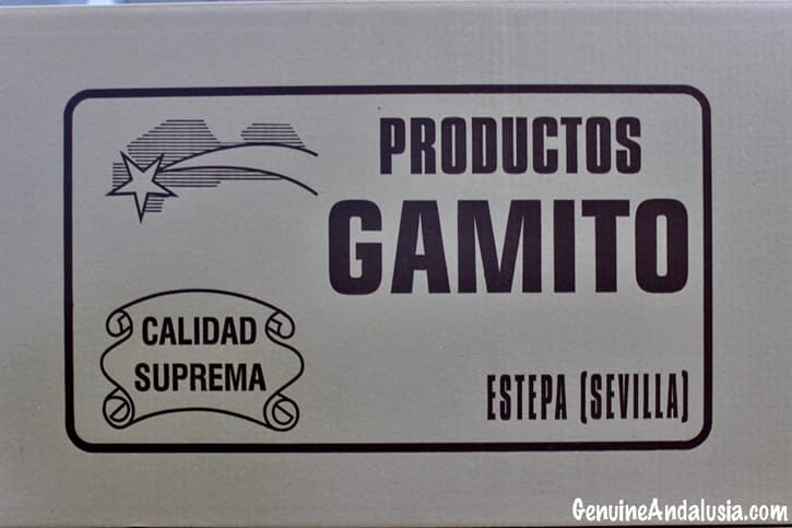 Gamito Products. Spanish Christmas Sweets from Estepa. Andalusia