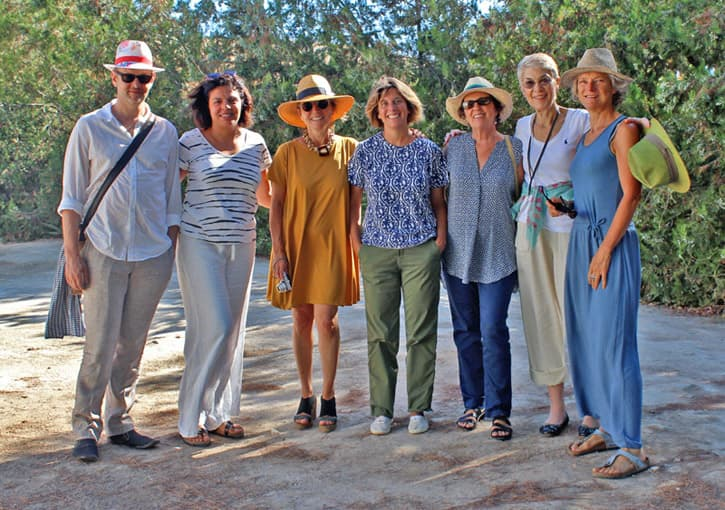 Group photo of a friends trip to Southern Spain, Andalusia