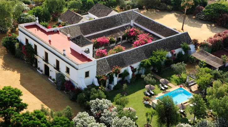 Hacienda San Rafael. An ideal hotel for Spain family tours