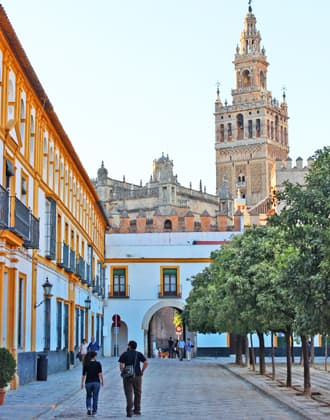 Seville Cathedral and Alcazar or Royal Palace