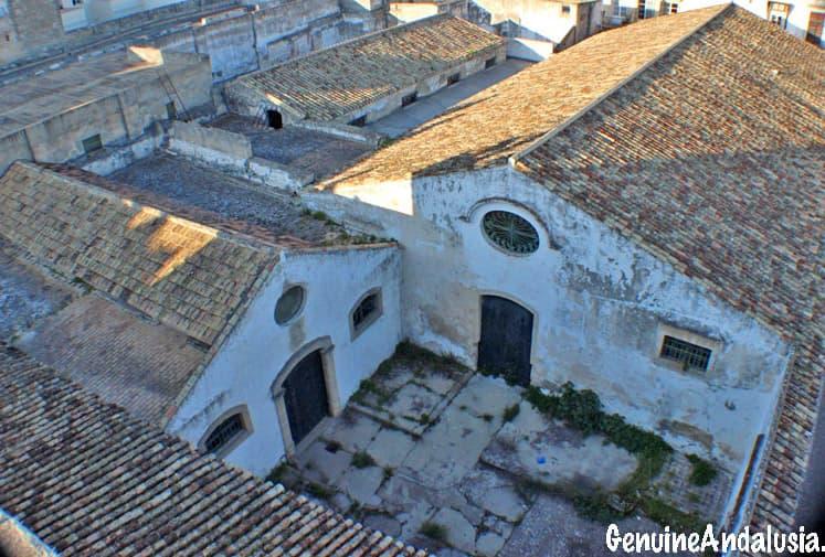 Sherry Bodega buildings in El Puerto de Santa Maria