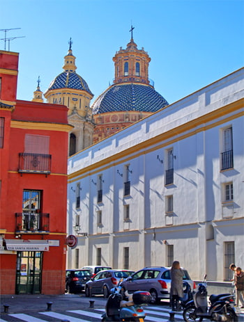 Hidden landmarks in Seville old town. Culture and lifestyle tours of Andalusia